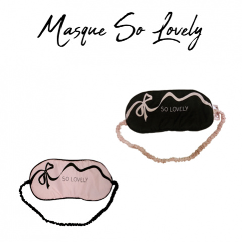 Masque So Lovely - Black