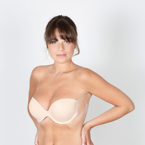 113 bra louvre nude adhesive wings backless gilsa paris worn face