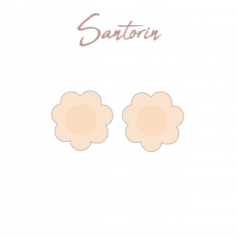 319 Adhesive nipple Satorin Gilsa paris second skin effect braless effect invisible under fine clothes