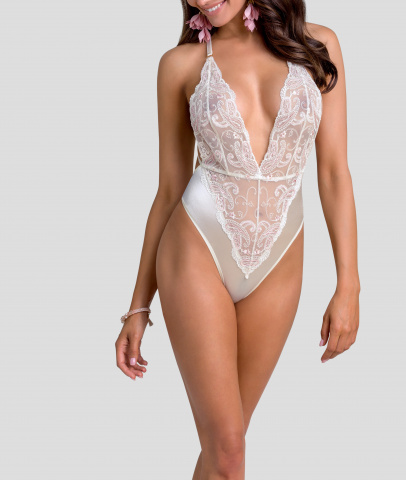2201 odessa wedding oui by gilsa  satin body embroidered with white lacecarried from the front