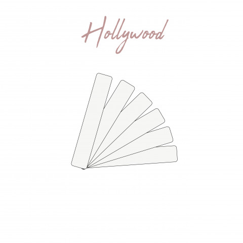 307 Hollywwood fashion tape ouiby gilsa wedding sticker