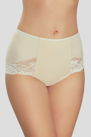 louise lace panties in beige gilsa