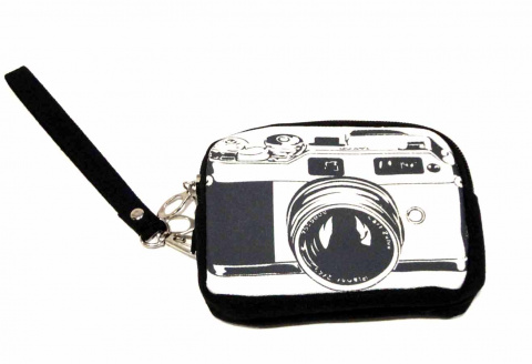 516 Gilsa Paris black camera bag